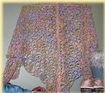diakeito shawl, made by Beryl (from Bluebonnet gallery)