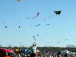 Highlight for Album: Zilker Kite Festival 2005