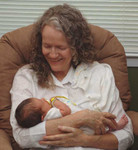 Carter with Granny Dianne