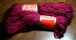 Super 10 dk raspberry (2 skeins) - 100% mercerized cotton, 125g/250m, 22 sts=10cm, 4mm needle/hook