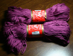 Super 10 lt raspberry (2 skeins) - 100% mercerized cotton, 125g/250m, 22 sts=10cm, 4mm needle/hook